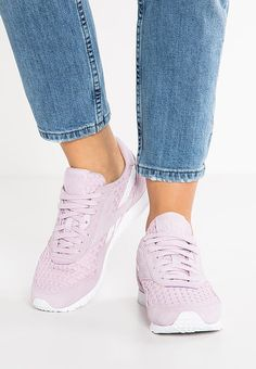 Reebok Classic CL NYLON SLIM ARCHITECT - Sneaker low - shell purple/white - Zalando.de