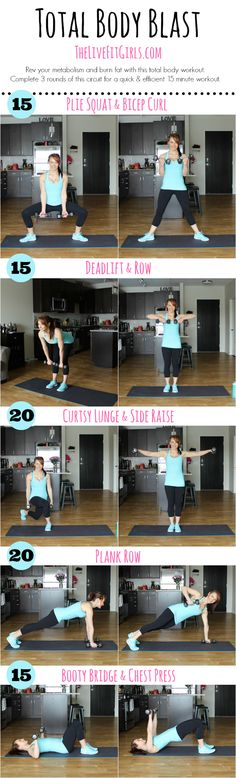 Total Body Blast Workout!