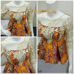 Ankara peplums are so in!Kano based fashion designer Maymunah Anka of MALAABIS_BY_MAYMZ shows more of very stylish and elegant about Ankara peplum tops.And yes to the ruffle and flare of a peplum that accentuates and add curves for that top notch and breathtaking look.The Ankara fabric is very popular in the North and I must say, this is one designer that has turned the fortune of this fabric to something VERY SPECTACULAR.These beautiful designs will add that extra flare needed to take your…