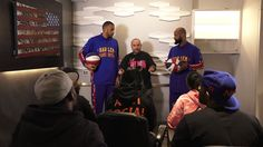 Rosenberg Has An Exclusive Press Conference For The Celebrity Basketball...
