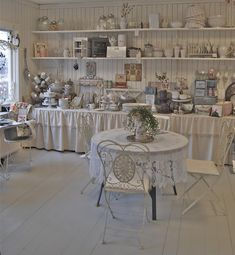 french shabby chic store - love it! But where d I pin something like this?!