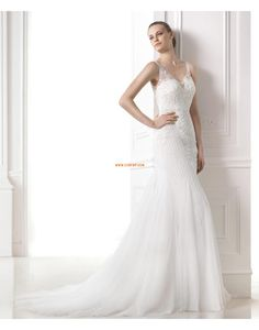 Menyasszonyi ruhák stólával Tüll  Ujjatlan Menyasszonyi ruhák 2015