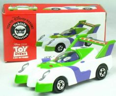 Tomica Tomy Japan Tokoyo Disney Vechicle Collection Toy Story Buzz Lightyear Car | eBay