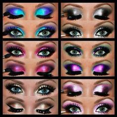 Drag Queen Eyeshadow. Lets be honest. The queens kill it in the make-up dept.