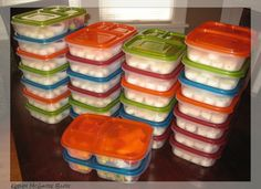 Would you get overwhelmed if you had to pack lunches for 28?Don't worry, I don't pack this many every day, but I'm going to show you how easy it is to pack lunches for 2, 6, or 20! I recently volunteered to make lunches for a school that is in the poorest, most-diverse neighborhood in