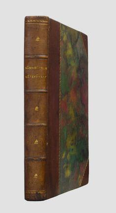 [Kamasutra]. Kāmasūtram Vātsyāyany. Indyjska ars amatoria wraz z kompletnym komentarzem (Jayamańgalā) Yaśodhary. Oryginał w sanskrycie. Lwów 1922.