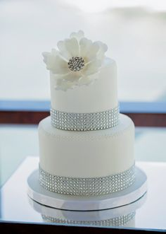 Wedding cakes gorgeous example reference 9431054928 - Basic yet ingenious wedding cake steps and tips. Require for more pink wedding cakes with bling information, pop by the web link today. Diamond Wedding Cakes, Bling Wedding Cakes, Wedding Cake Prices, Fall Wedding Cakes, Wedding Cakes With Cupcakes, Beautiful Wedding Cakes, Wedding Cake Designs, Diamond Anniversary Cake, Wedding Anniversary Cakes
