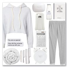 """""""Bags Under The eyes"""" by amber-mistry ❤ liked on Polyvore featuring Monrow, Monki, Muji, Rituals, H2O+, Selfridges, The White Company, STELLA McCARTNEY and Brinkhaus"""