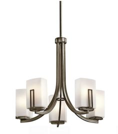 Kichler Lighting - 42426SWZ - Leeds - Five Light Chandelier-$600