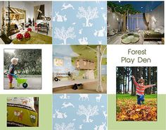 """Check out new work on my @Behance portfolio: """"Forest Playden"""" http://on.be.net/1PAvyJ3"""