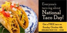 FREE Taco at El Torito Today on http://www.icravefreebies.com/