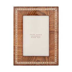 Wooden Frame | ZARA HOME Norge / Norway