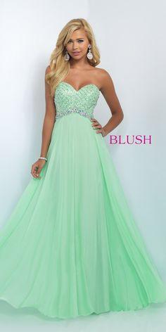 blush 11050 persimon | Strapless Formal Gown 11050