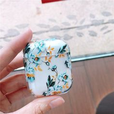 Floral Hard Case for Apple AirPods by LucidCases - Thin Iphone 8 Case - Thin Iphone 8 Case ideas - Cute Cases, Cute Phone Cases, Iphone Phone Cases, Hard Phone Cases, Iphone 8, Batterie Iphone, Apple Airpods 2, Apple Case, Accessoires Iphone