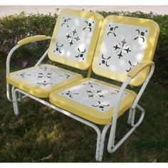 Check out the 4D Concepts 71 Retro Metal Glider priced at $279.95 at Homeclick.com.