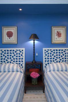 Jerry Jacobs Design: Interior Design San Francisco Bay Area - tropical - bedroom - miami - Jerry Jacobs Design, Inc.
