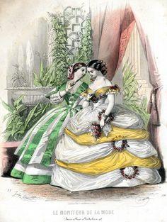 Dresses #nodate #1860s? #France