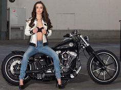 Harley Heaven Shooting – Bikes And Girls | I Love Harley Davidson Bikes