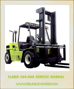 clark e357 forklift service repair manual clark service manual rh pinterest com Clark Forklift Replacement Parts Clark Forklift Hydraulic Diagram