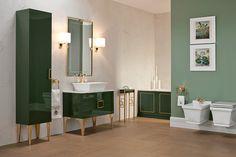 Permettez-vous toutes les excentricités avec la collection de meubles #Daphne d'#OasisBathroom.