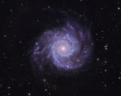The Stunning Beauty of the Perfect Spiral Galaxy M74 via Phil Plait