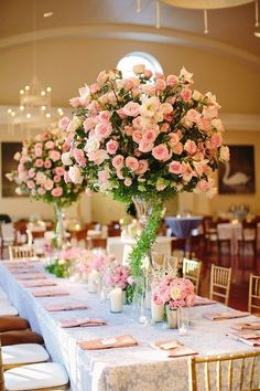 Tall white hydrangea centerpieces and sparkly purple table cloths {Meysenburg Photography} White Hydrangea Centerpieces, White Centerpiece, Wedding Centerpieces, Wedding Decorations, Wedding Blog, Wedding Planner, Our Wedding, Destination Wedding, Wedding Venues