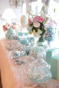 My Tiffany's Affaire Candy Buffet