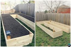 6 Cheap & Easy DIY Raised Garden Beds Best Picture For Garden Planters elevated For Your Taste You are looking for something, and it is going to tell you exactly what you are looking for, and you didn Raised Herb Garden, Building A Raised Garden, Raised Gardens, Raised Planter, Diy Garden Bed, Diy Garden Projects, Easy Garden, Garden Ideas, Veg Garden