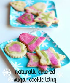 Naturally Colored Sugar Cookie Icing Recipe!
