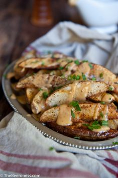 Football fries: Chipotle Beer Cheese Oven Fries