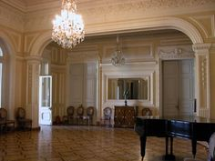 Hall: The Avant Hall in the Yusupov Palace