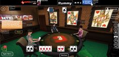 Now interact instantly with other seated players through the 'Group chat' placed on the bottom left-side of our 3D social game! Visit gamentio.com and register yourself!
