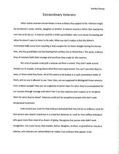 what is a veteran essay veteran essay nowserving veteran essays  veterans essay paralyzed veterans essay contest is this a good memorial day essay gxart orgimages about