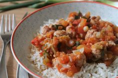 Sauce, Curry, Ethnic Recipes, Avril, Food, Dire, Skinny Kitchen, Flavored Rice, Poultry