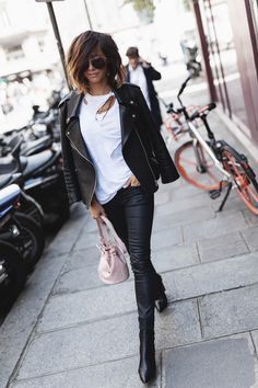 street_style_paris on Poshinsta Posts Videos & Stories i__am_fashion? Check out link in our BIO Lazy Outfits, Hipster Outfits, Cute Outfits, Rock Style, My Style, Cool Street Fashion, Street Style, Boating Outfit, Looks Chic