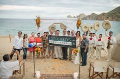 Wedding at Baja Cantina Beach Club in Cabo San Lucas.
