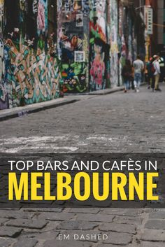 There are loads of great bars and cafés in Melbourne -- which can make choosing a spot to go rather overwhelming. Click through for a few suggestions on where to eat and drink, from a blogger who spent seven months living and working in the city. | #Melbourne #Victoria #Australia | Photo by Linda Xu