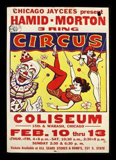 Quadro Poster Cinema Hamid Morton Circus - Decor10