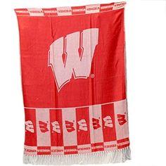Wisconsin Badgers Shawl Scarf Featuring Team Logo Sports Team Accessories http://www.amazon.com/dp/B01AL54XK6/ref=cm_sw_r_pi_dp_NUT5wb0P1FMWR