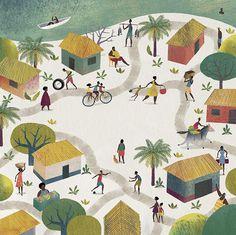 En el pueblo de Palenque, casi nadie sabe leer. En ese escenario se desarrolla 'Letras al carbón' (Editorial Juventud), escrito por Irene Vasco e ilustrado por Juan Palomino.
