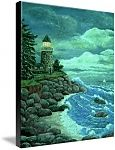 Jerry's Lighthouse by Ave Hurley , available on Imagekind. Prints & Posters start at $9.49