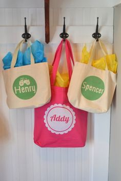 Personalized bags using flocked heat transfer material