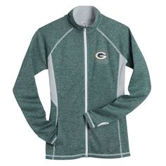 Packers Women s Plus Club Pass Track Jacket Green Bay Packers Merchandise 67409a42d