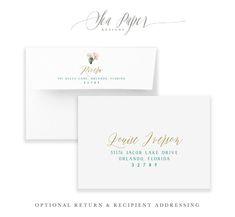 Eva: Floral & Cactus Bridal Shower Invitation