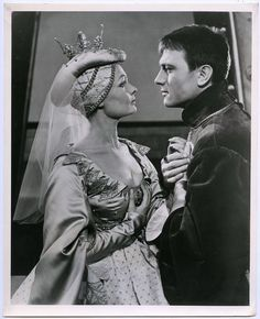 Judi Dench and Laurence Olivier in Henry V  at the Old Vic