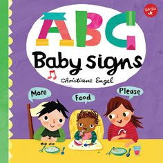 ABC for Me: ABC Baby Signs: Learn baby sign language while you practice your ABCs! - ABC Baby Signs pairs simple baby signs with adorable illustrations to teach very young children basic signs to communicate. Sign Language Basics, Sign Language Phrases, Sign Language Interpreter, Learn Sign Language, British Sign Language, Baby Sign Language, Language Lessons, Language Arts, Sign Language For Toddlers