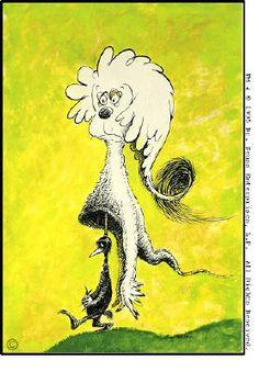 Artist: Dr. Seuss  , Title: Fooling Nobody - click for larger image