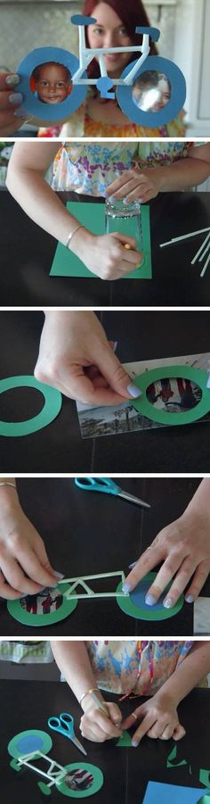 Bicycle Frame | DIY Birthday Gifts for Dad from Kids that will melt his heart!