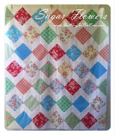 As mentioned in my last post, this is a great quilt to showcase your favorite fabrics. It's a simple quilt that's made up of 46 of these blocks: In this tutorial I've also include…