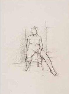 Euan Uglow: Drawings